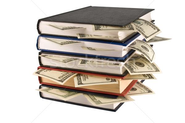 Money in books Stock photo © stokato