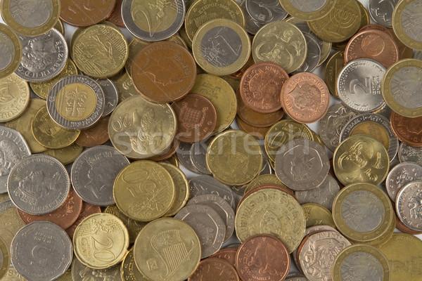 Grup avrupa madeni para finanse renk dolar Stok fotoğraf © stokato