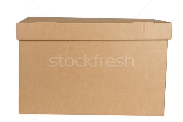 Close carton box Stock photo © stokato