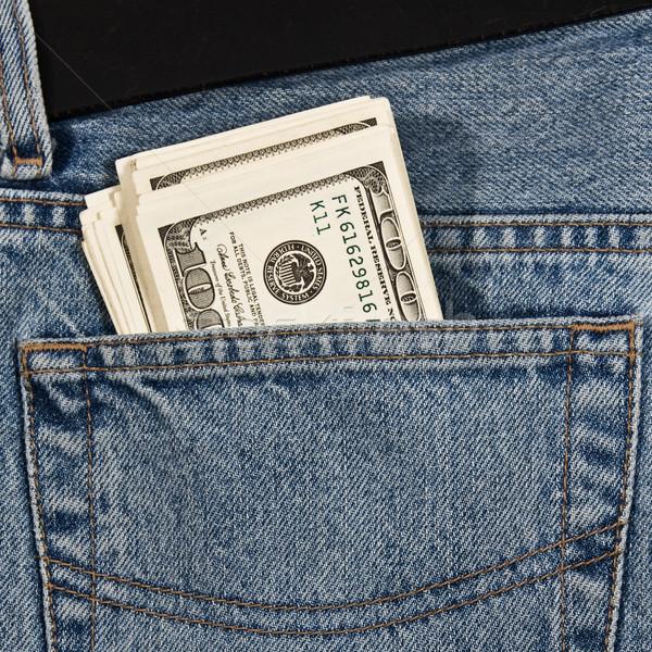 Money in jeans  Stock photo © stokato