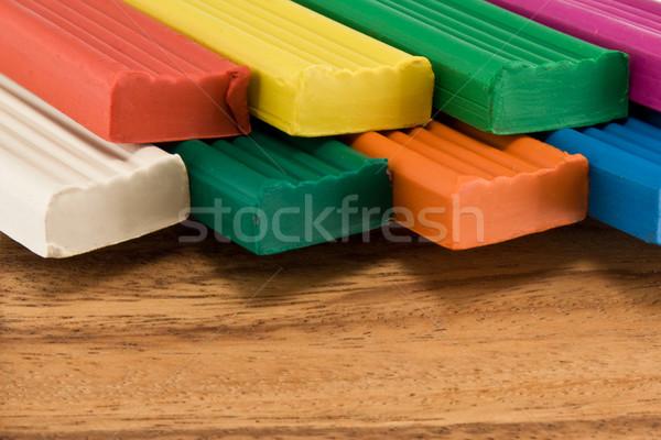 Plasticine. Stock photo © stokato
