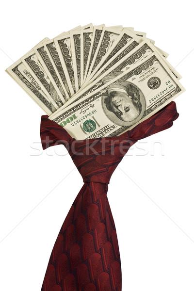 Cravat with dollars.  Stock photo © stokato