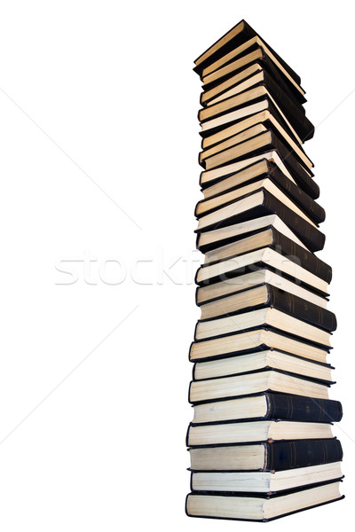 Tower  of old books. Stock photo © stokato