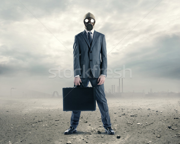 pollution concept Stock photo © stokkete