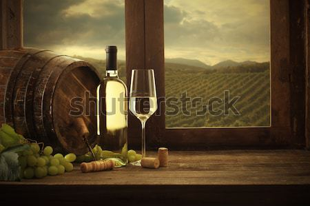 Stock photo: Wine