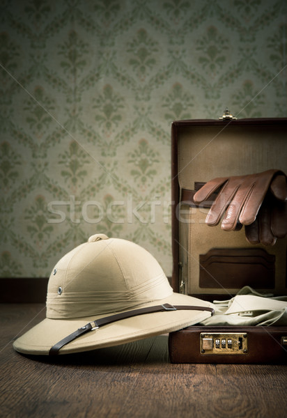 Explorer packing for a travel Stock photo © stokkete