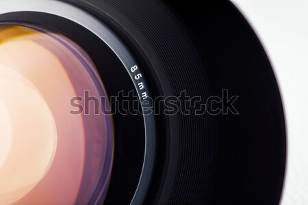 Digital camera lens close up Stock photo © stokkete