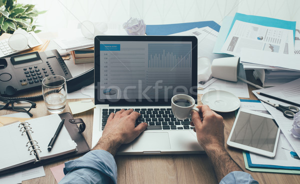 Productivity and deadlines Stock photo © stokkete