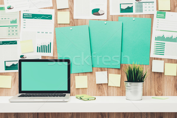 Stock photo: Green office
