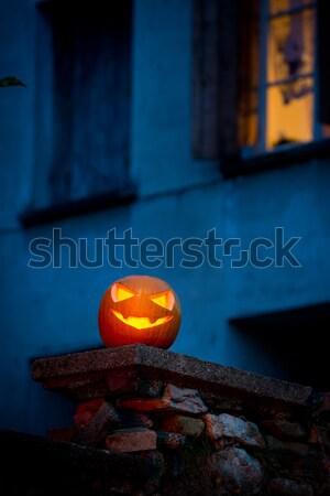 Stock photo: Halloween night