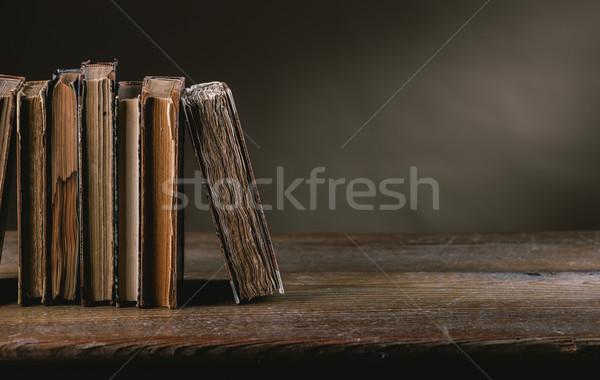 古代 図書 古い 表 静物 リテラシー ストックフォト © stokkete