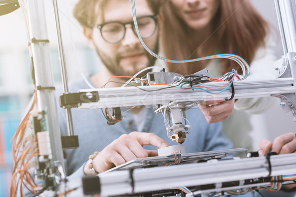 3D printing and education Stock photo © stokkete