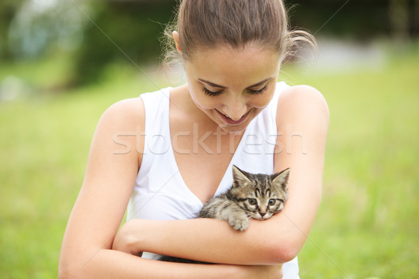 любви Китти красивой Сток-фото © stokkete