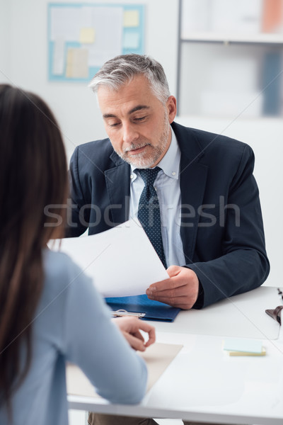 Job interview Stock photo © stokkete