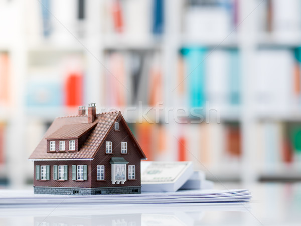 Buying a new house Stock photo © stokkete