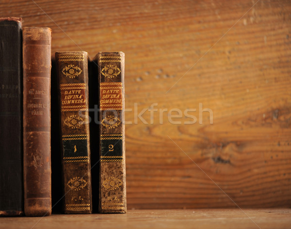 Libro viejo textura marco arte retro Foto stock © stokkete