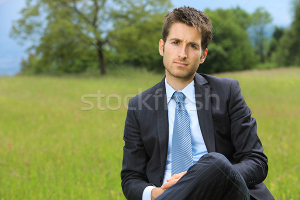 Young business man Stock photo © stokkete
