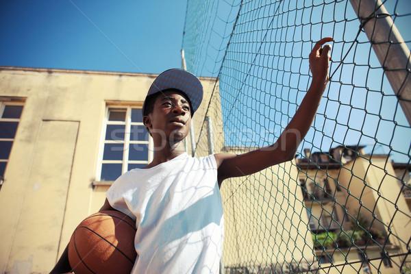 Street Basketball Stock photo © stokkete