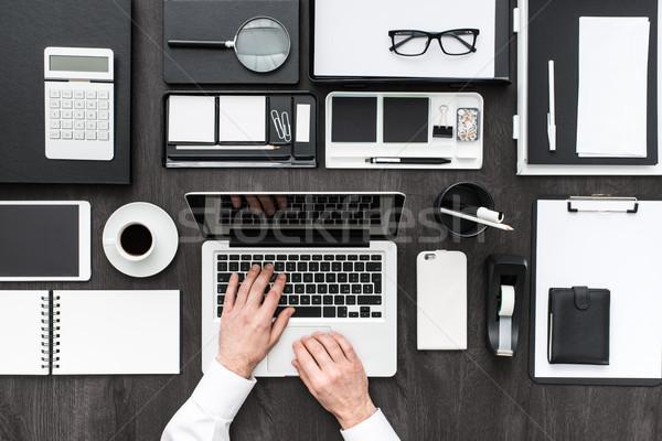 Korporacyjnych działalności biuro kierownik pracy Zdjęcia stock © stokkete