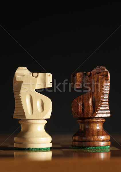 chess pieces Stock photo © stokkete