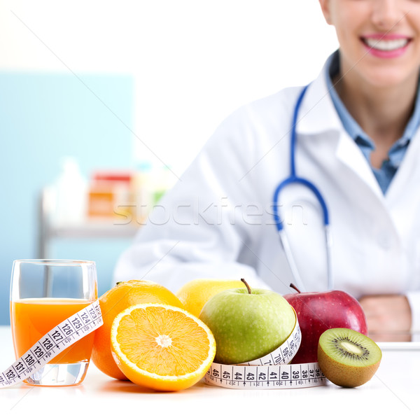 Nutritionist Doctor  Stock photo © stokkete