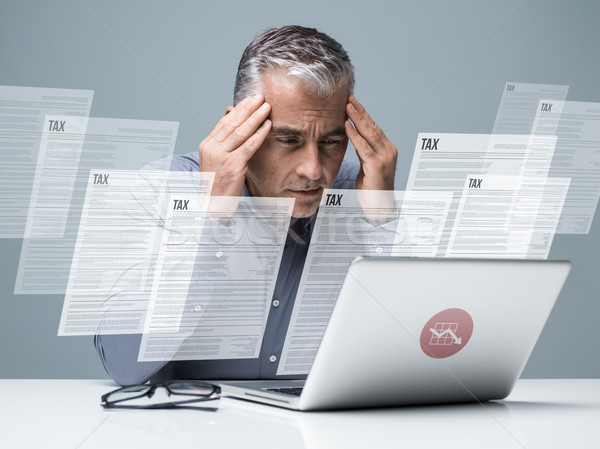 Taxes and accounting Stock photo © stokkete