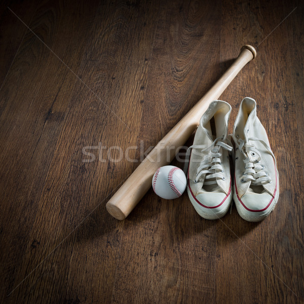 Baseball player equipment Stock photo © stokkete