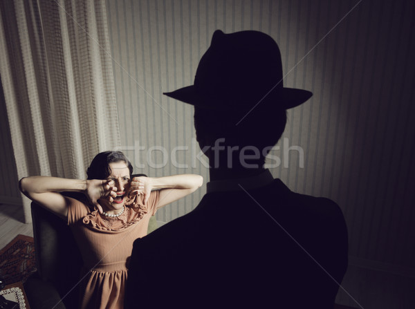Woman scared Stock photo © stokkete