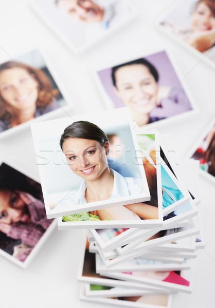 Stockfoto: Glimlachend · mensen · portretten · groep · mensen · portret · groep · mensen