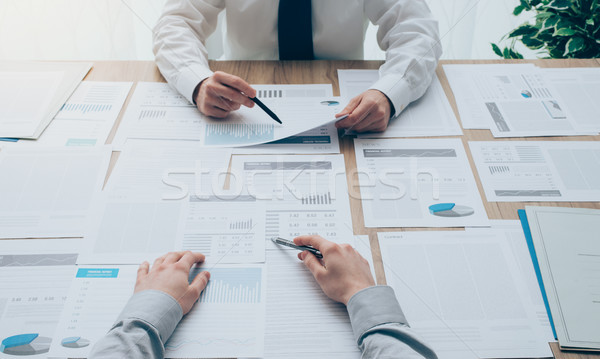 Business meeting Stock photo © stokkete