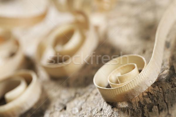 Shavings Stock photo © stokkete