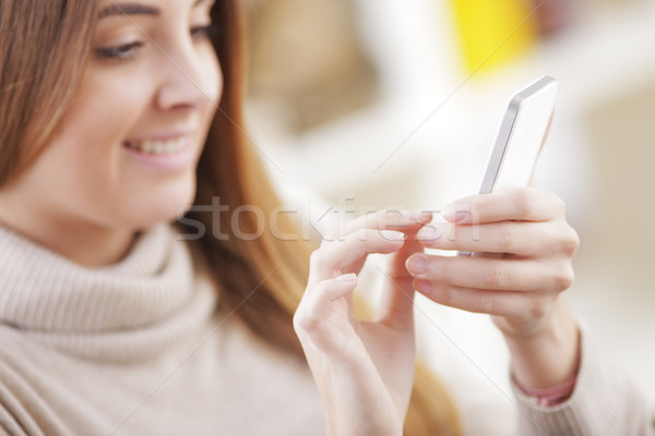 Text Messaging Stock photo © stokkete