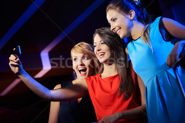 Happy friends Stock photo © stokkete