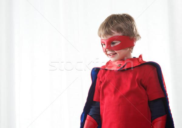 Superhero kid Stock photo © stokkete