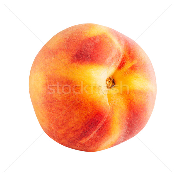 Fresh peach close up Stock photo © stokkete