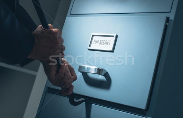 データ 盗難 セキュリティ 泥棒 開設 ストックフォト © stokkete