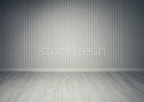 Habitación vacía habitación retro Foto stock © stokkete