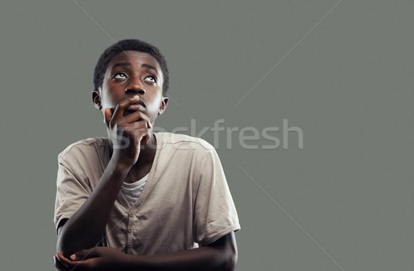 African boy Stock photo © stokkete