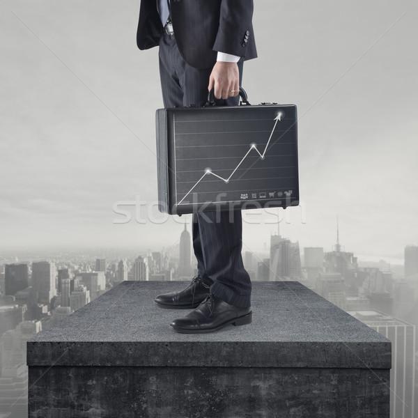 Succesful financial plan Stock photo © stokkete