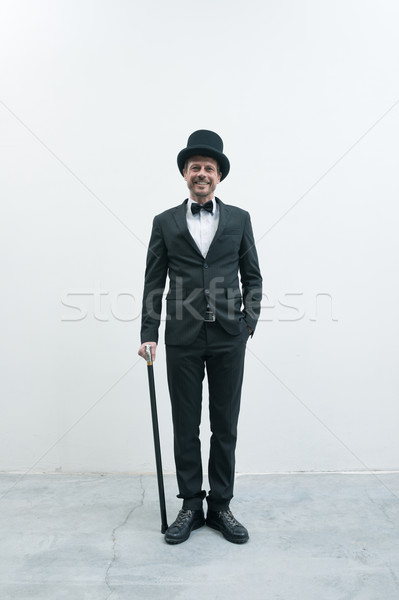 Classy gentleman Stock photo © stokkete