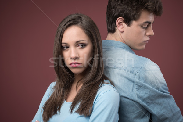 Young couple arguing Stock photo © stokkete