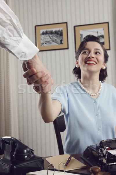 Business handshake Stock photo © stokkete