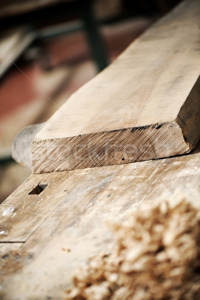 wooden plank Stock photo © stokkete