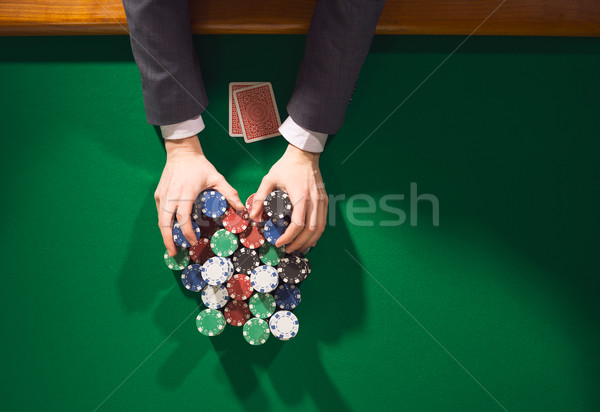 All in bet Stock photo © stokkete