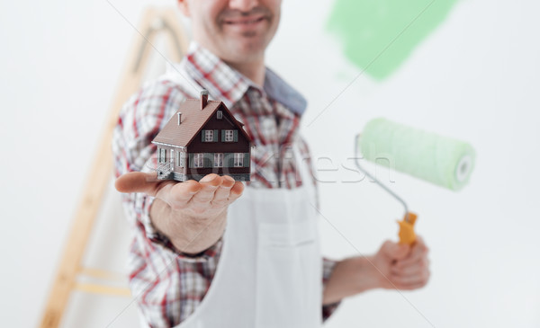 Building your house Stock photo © stokkete