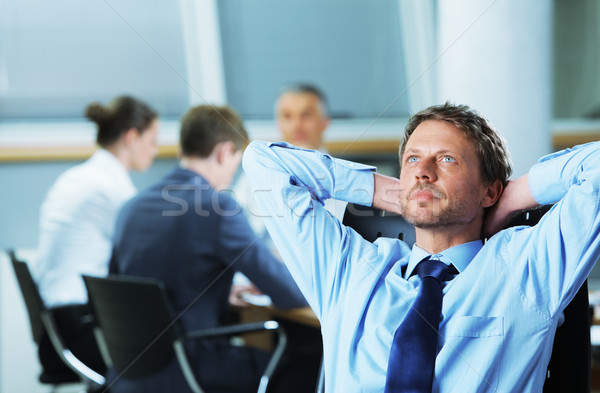 Relaxed Businessman Stock photo © stokkete