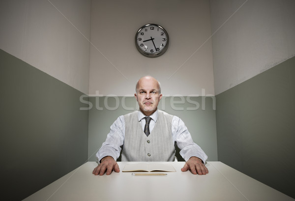 Working in a small office Stock photo © stokkete