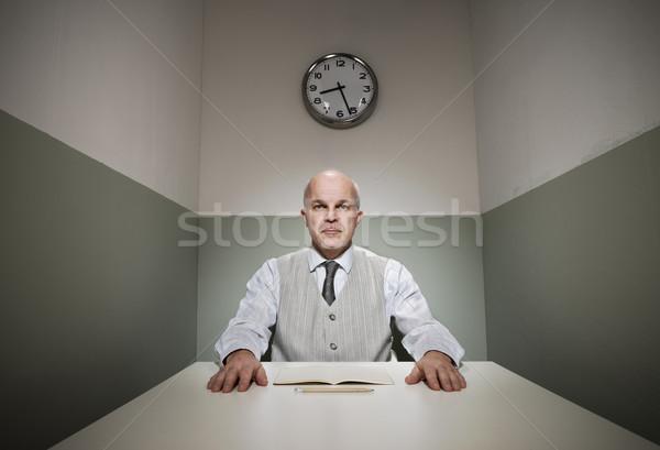 De trabajo pequeño oficina productivo altos empleado Foto stock © stokkete