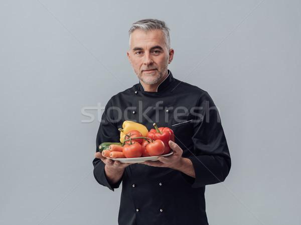 Healthy cuisine Stock photo © stokkete