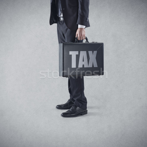 Tax Time Again Stock photo © stokkete
